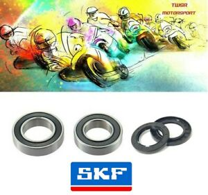 Genuine SKF Triumph Street Triple 675 Front Wheel Bearings & Seals 2008 - 2012