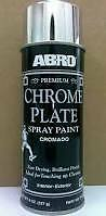 SALE ABRO  CHROME PLATE  Effect Aerosol Spray Can High Quality Paint