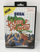 Double Dragon Sega Master System CIB Manual Tested Authentic