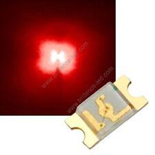 20x Led CMS SMD 1206 Rouge à souder PLCC-2 - red 1206 smd haute luminosité