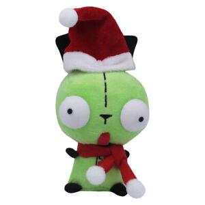 Christmas Alien Invader Zim Dog Suit Gir Robot Plush Doll Stuffed Toys 5 inch