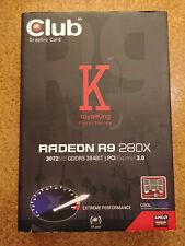 AMD Radeon R9 280X royalKing Club 3D 3072MB GDDR5 Grafikkarte PCI Express defekt