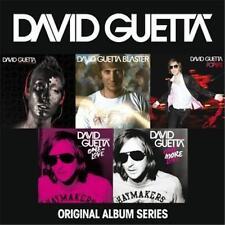 DAVID GUETTA ORIGINAL ALBUM SERIES 5 CD NEW