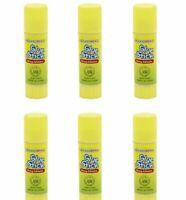 6 x Glue Sticks Non Toxic Kids Children Childproof washable Craft Adhesives 6x9g
