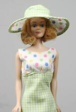 "Vintage BARBIE ""Midge"" Doll 1962. LUNCH ON THE TERRACE Dress and Hat! JAPAN"