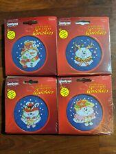 New Janlynn Christmas Quickies Snowmen Cross Stitch Kits w Frames (4)