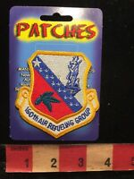 US AIR FORCE 160th AIR REFUELING GROUP PATCH (New Old Stock) 86K6