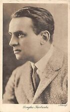 POSTCARD   ACTORS   Douglas  Fairbanks