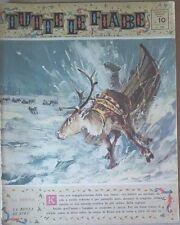 TUTTE LE FIABE DELLA NONNA -LA RENNA- RIVISTA DEL 1962- ANNO 1 N.10  PER BIMBI