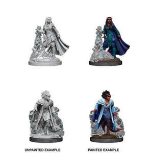 D&D Unpainted Minis Wv12 Female Tiefling Sorcerer NEW Miniature Game