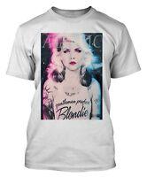 Blondie Debbie Harry T Shirt Atomic T-Shirt Punk Rock Top 70's 80's Icon