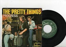 PRETTY THINGS EP PS Progress France 1966 465.353 M VERY RARE French UNIQE cover!