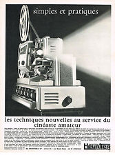PUBLICITE   1967   HEURTIER   projecteur 8 & 8mm