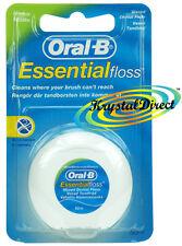 Oral B EssentialFloss essenziale Dental Floss MINT incerata