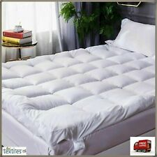 4'' SUPERSOFT THICK MICROFIBER MATTRESS TOPPER/MATRESS PROTECTERS WITH ALL SIZES