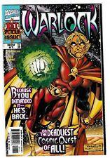 WARLOCK #1 (1998) (VF/NM) Soul Gem Bearer! Gamora & Drax Appearance Adam Warlock