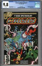 Crisis On Infinite Earths #1 CGC 9.8 NM/MT 1st Appearance of Blue Beetle WHITE