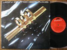 Jon Butcher Axis LP 1983 Self titled EX+ vinyl G cover Polydor 422-810 059-1 Y-1