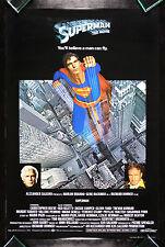 SUPERMAN * CineMasterpieces ORIGINAL UK BRITISH ENGLISH MOVIE POSTER 1978