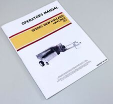 NEW HOLLAND 311 SMALL SQUARE BALER HAYLINER OWNERS OPERATORS MANUAL MAINTENANCE