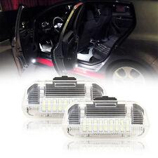 2x LED Door Welcome Courtesy Lights Volkswagen Golf plus JettaPassat CC Sharan