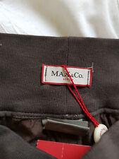 MAX & Co. Gonna Lunga Seta Nuovo di Zecca