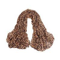 Silk Gauz Stylish Stole Georgette Long Style Leopard Scarves Shawl Scarf Wrap