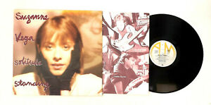 SUZANNE VEGA LP SOLITUDE DANCING, INNER/LYRICS, 1987 UK FIRST PRESS, EX/EX