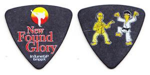 New Found Glory Ian Grushka Karate Kid & Mr. Miyagi Black Bass Guitar Pick - NFG