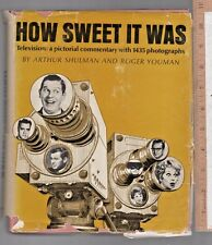 How Sweet It Was Television: A Pictorial Commentary with 1435 photographs  c1966