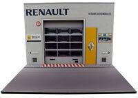 Diorama présentoir Renault - Vésubie Automobiles - 1/18ème - #18-2-E-E-003