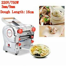 New Electric Pasta Press Maker Noodle Machine Dumpling Skin Home Commercial 220V