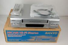 SANYO vhr-793e 6-TESTA VIDEO RECORDER VIDEOREGISTRATORE VHS * new/nuovo B-Ware *