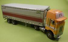 Disney Cars Mattel Peterbilt LKW mit Anhänger Truck 21 cm lang selten - wie NEU