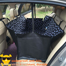 NEW Waterproof Car SUV Dog Seat Cover Cat Pet Protector Travel Auto Rear Oxford
