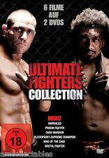 DVD - ULTIMATE FIGHTERS COLLECTION - 6 FILME AUF 2 DVDs - NEW / ORIGINAL PACKAGE