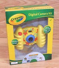 Genuine Crayola Children's Digital Camera Kit w/ Photos Editing Software *READ*