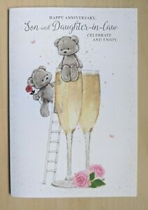 Anniversary Card Son and Daughter-in-law - Special Couple Celebration  Wedding B