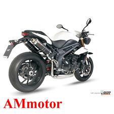Mivv Triumph Speed Triple 2012 12 Escape Moto Silenciador Gp Carbon High