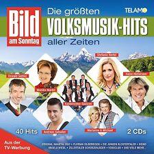 BAM: i maggiori musica popolare-Hits di tutti i tempi 2 CD NUOVO