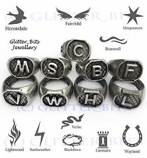 MORTAL INSTRUMENTS SET OF 9 FAMILY RING SHADOWHUNTER MORGENSTERN HERONDALE S