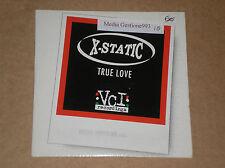 X-STATIC - TRUE LOVE - CD SINGOLO PROMO