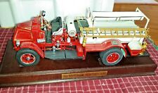 Danbury Mint 1926 Mack AC Rotary Pumper 1:32 Scale Die Cast Plynth 50 c3
