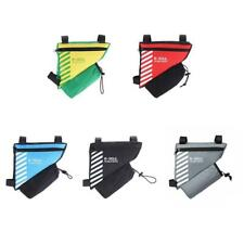 Bicycle Triangle Front Frame Tube Bag Bike  Bottle Pocket New With B5O5