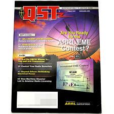 Qst Ham/Amateur Radio Arrl Magazine - August 2012 Eme Icom Id-31A Mfj-994Brt Dx
