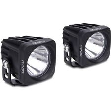 R & G DENALI DX LED Driving Lights -Small Bright Light for Motorcycle/Motorbike