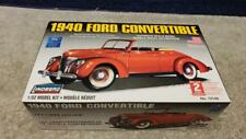 Vintage Lindberg 1940 Ford  Convertible 1:32 Scale Plastic Model Boxed Sealed