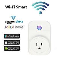 WiFi Smart Plug Power Switch Outlet Alexa Echo Smart Home Remote Control Socket