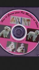 MALTESE  DOG grooming Instructional video DVD 2nd Ed.