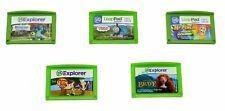 Lot of 5 LeapFrog Explorer LeapPad Games Boys(Pencil,Thomas,Monsters,Brave,F&F)
